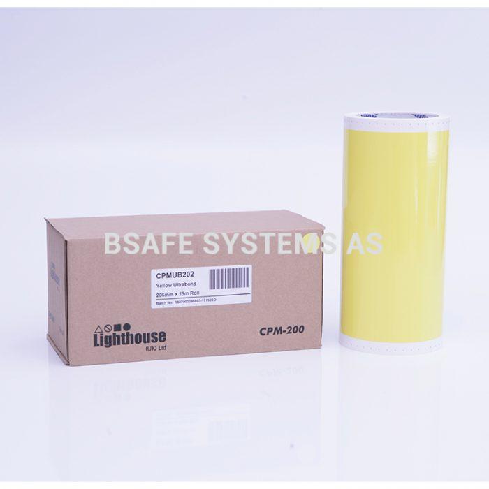 Ultrabond CPM-200 gul folie : CPMUB202 : Bsafe Systems AS