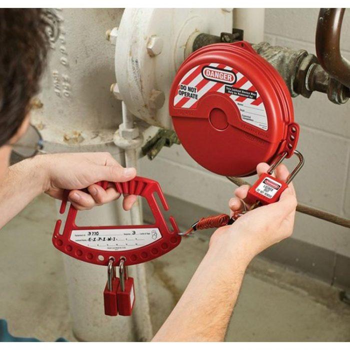 Lockout/Tagout : bærehandtak hengelas 10S125 : BSafe Systems AS