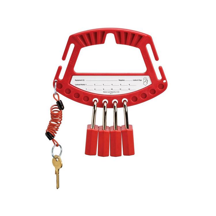 Bærehåndtak for hengelåser : Masterlock 10S125 : Bsafe Systems AS