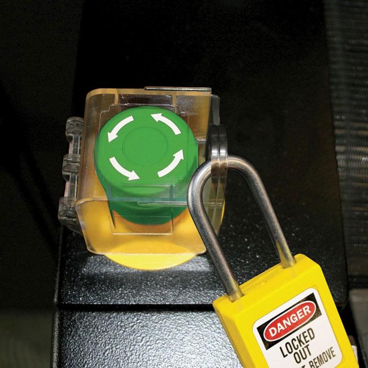 Push button cover firkantet : Masterlock 10S2153 : BSafe Systems AS