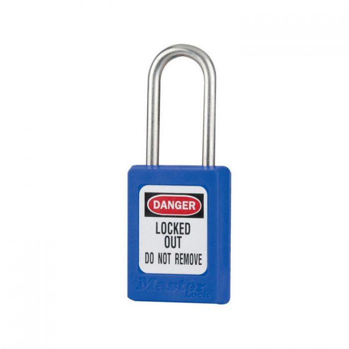Lockout/tagout : LOTO hengelås blå 10S31BLU : BSafe Systems AS