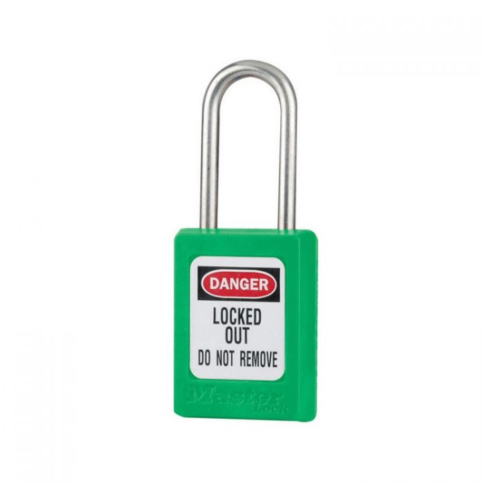 Lockout/tagout : LOTO hengelås grønn 10S31GRN : BSafe Systems AS