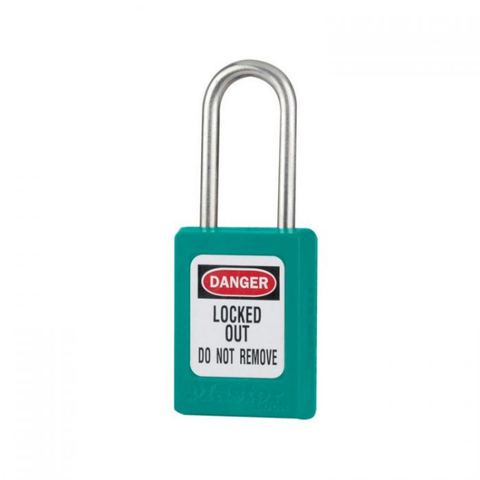 Lockout/tagout : LOTO hengelås turkis 10S31TEAL : BSafe Systems AS