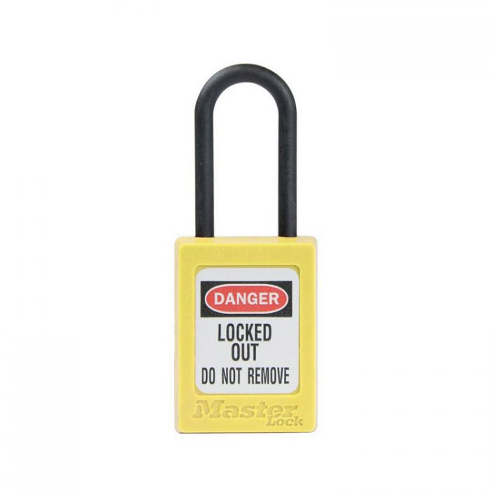 Lockout/tagout : LOTO hengelås ikke ledende gul 10S32YLW : BSafe Systems AS