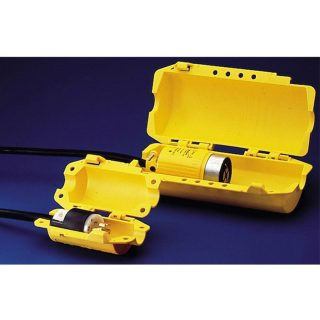Industriell lockout plugg støpsel stor : 065695 : Bsafe Systems AS