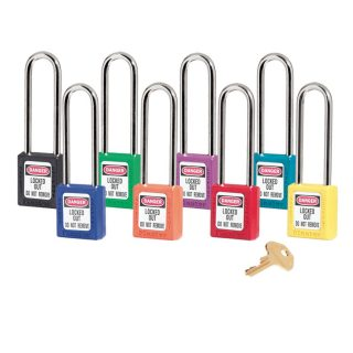 Lockout/tagout : hengelås 10410LT : BSafe Systems AS