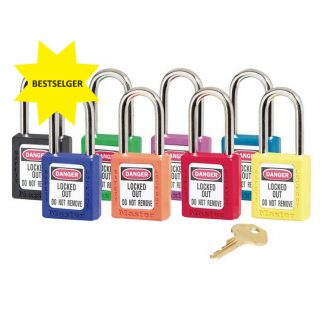 Lockout/tagout : masterlock hengelås 10410 : Bsafe Systems AS