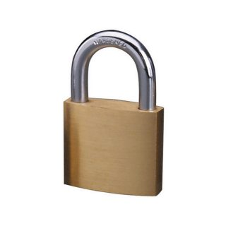 Økonomi-hengelås messing : Masterlock 104140 : Bsafe Systems AS