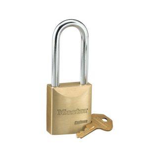 Økonomi-hengelås lang bøyle : Masterlock 104140LH : Bsafe Systems AS