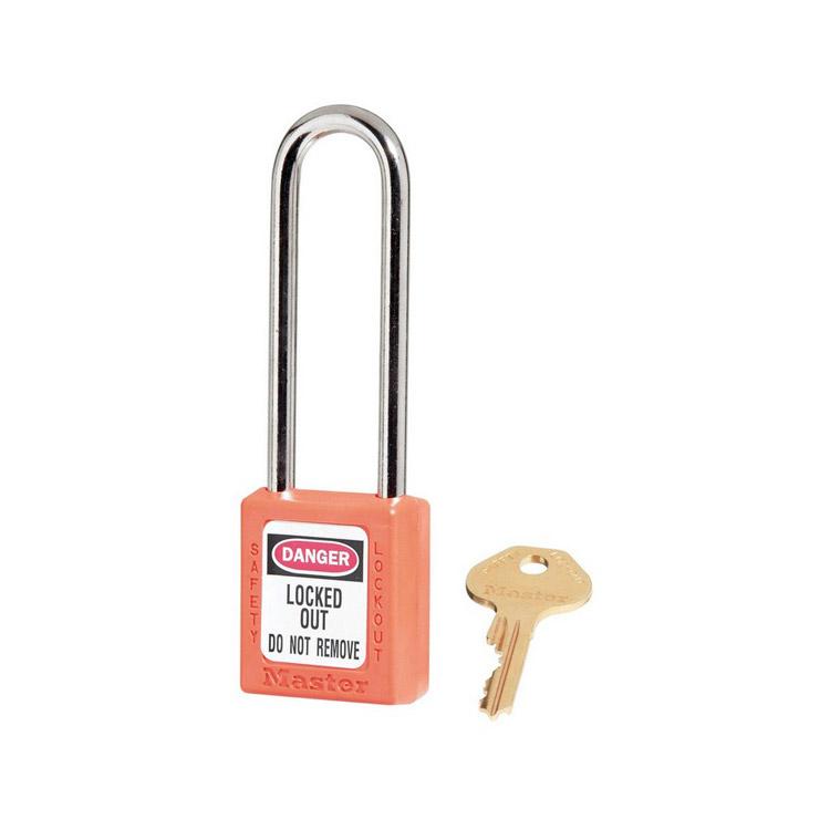 Lockout/tagout : hengelås oransje 10410LTORJ : BSafe Systems AS