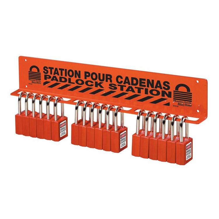 Hengelås stasjon stor : Masterlock 10S1518 : Bsafe Systems AS
