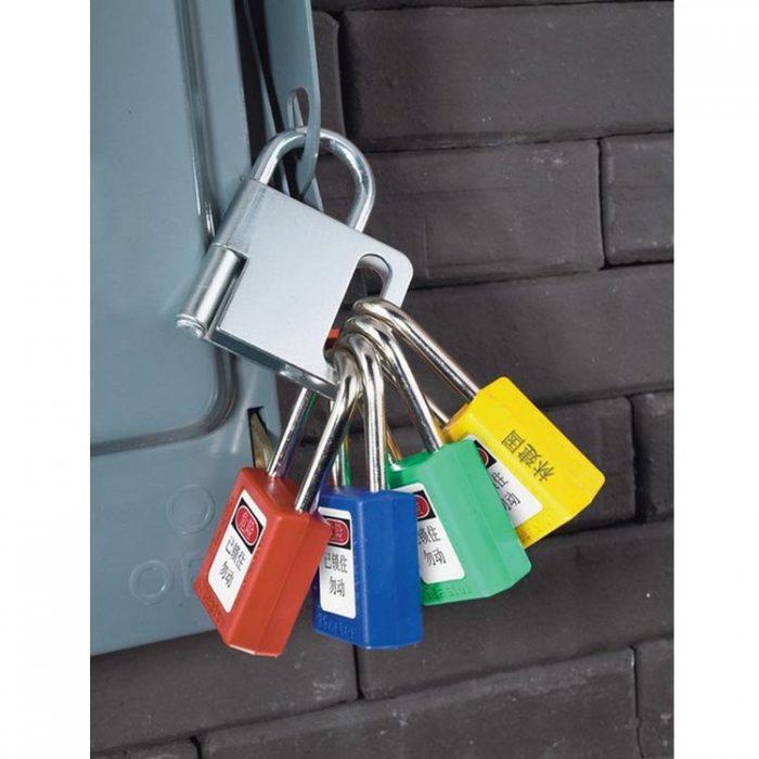 Lockout/tagout : låsebøyle stål 100418 : BSafe Systems AS
