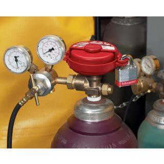 Lockout for gassflasker : Masterlock 10S3910 : Bsafe Systems AS