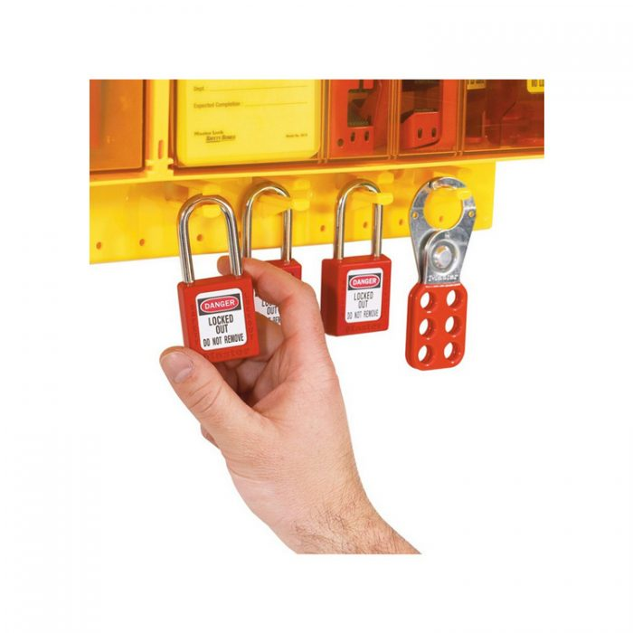 Lockout/Tagout : Masterlock S1800 : Bsafe Systems AS