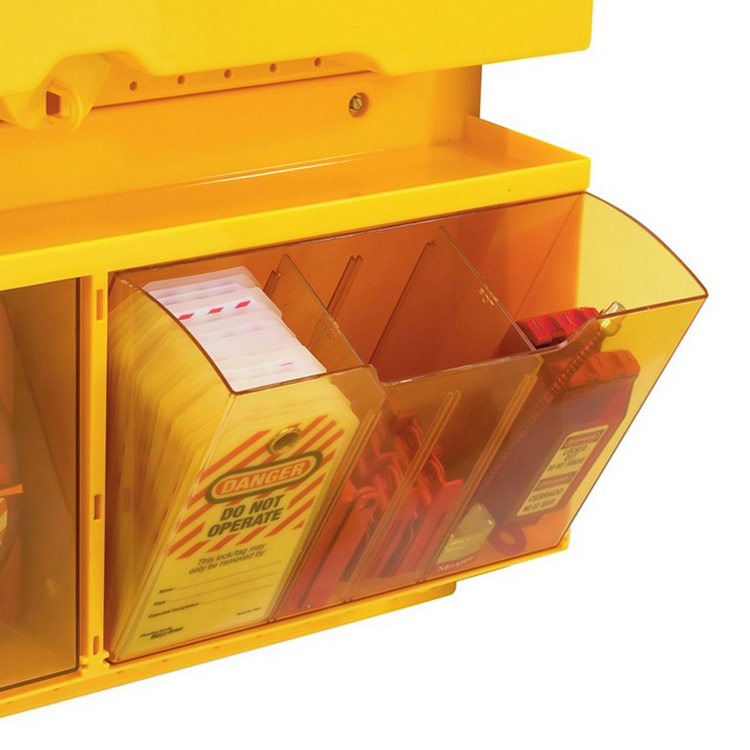 Lockout/tagout : loto tag center Deluxe 10S1900 : BSafe Systems AS