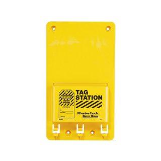 LOTO stasjon Tagholder uten innhold : Masterlock 10S1601 : Bsafe Systems AS