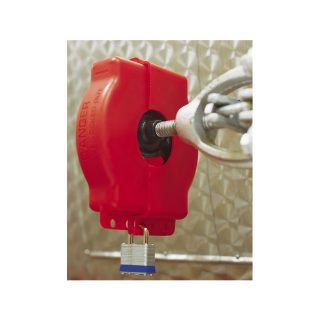 Justerbar lockout for sluseventil : 064057 : Bsafe Systems AS