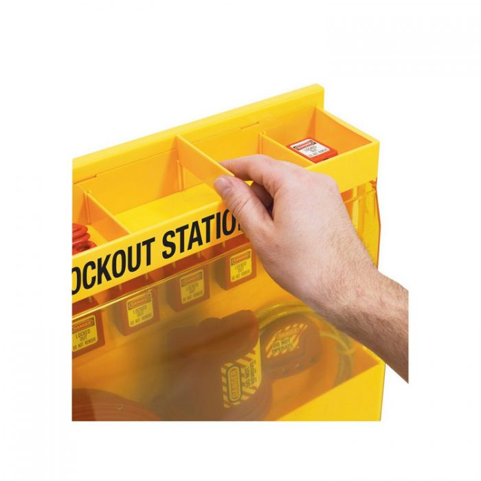 Lockout/tagout : stasjon 10S1850 : BSafe Systems AS