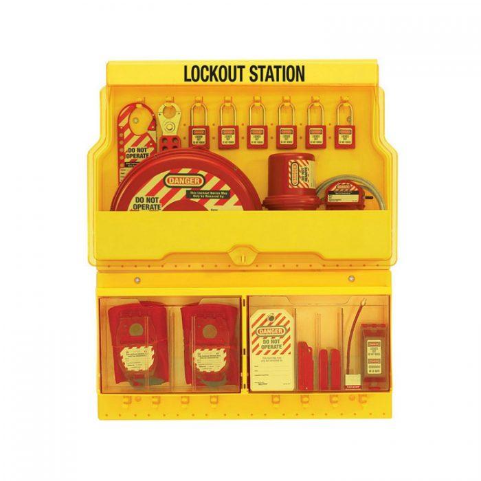 Lockout/tagout : stasjon 10s1900 : BSafe Systems AS