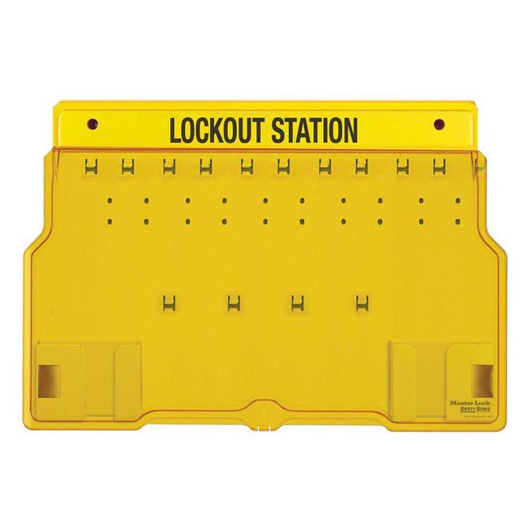 Loto skap Standard 2 uten innhold : Masterlock 101483B : Bsafe Systems AS