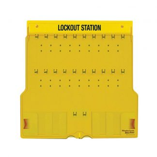 LOTO skap Standard 3 uten innhold : Masterlock 101484B : BSafe Systems AS