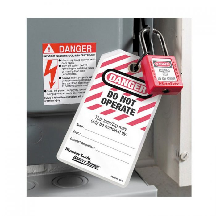 Lockout/Tagout : Masterlock 497A : Bsafe Systems AS