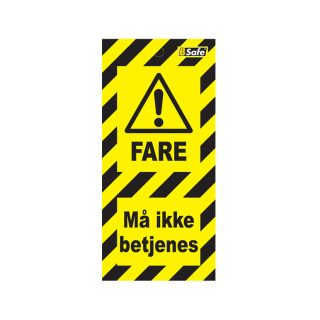 Tags må ikke betjenes : 451782 : Bsafe Systems AS
