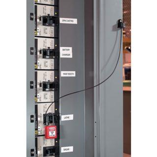 Wire for fastmontert hengelås : 10S100 : Bsafe Systems AS
