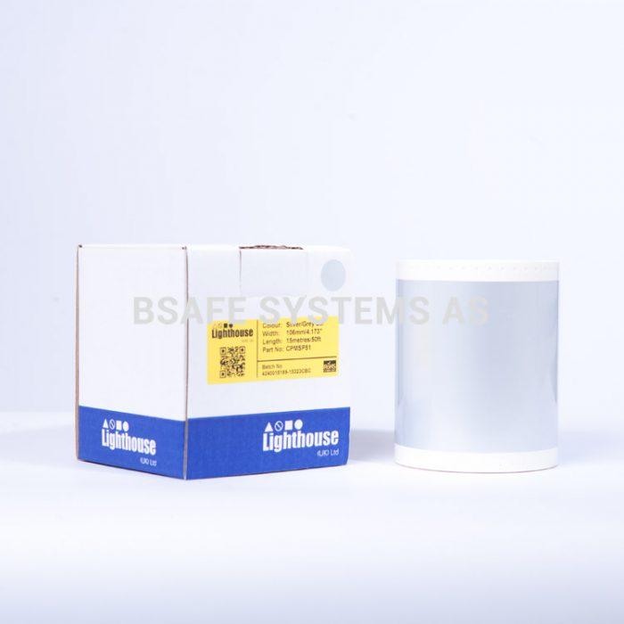 Polyesterfolie CPM-100 Sølvgrå CPMSP51 : BSafe Systems AS