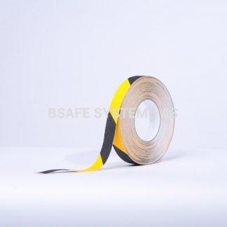 Merking : antiskli tape TA8103 gul sort : Bsafe Systems AS