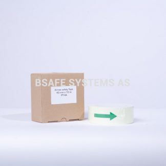 Etterlysende tape 40 mm : Bsafe Systems AS