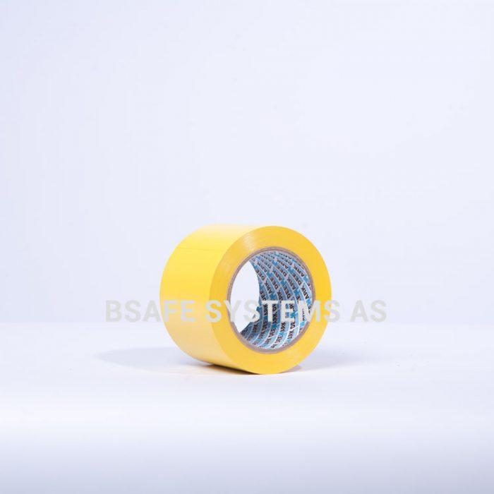 Gulvmerkingstape gul : Bsafe Systems AS