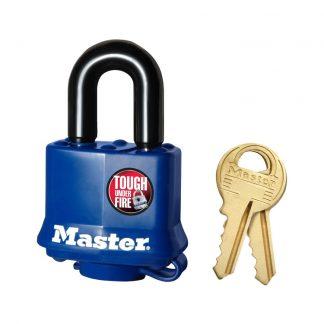 Hengelås laminert stål Masterlock 312 : Bsafe Systems AS