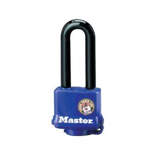Hengelås herdet stål lang bøyle Masterlock 312EURDLH : Bsafe systems AS