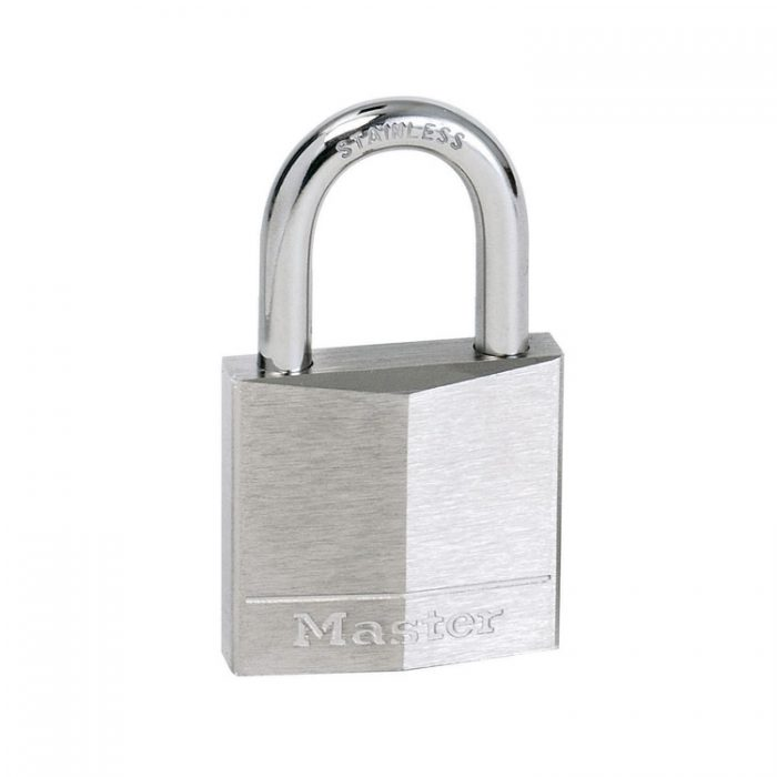 Hengelås forniklet messing Masterlock 640EURD : Bsafe Systems AS
