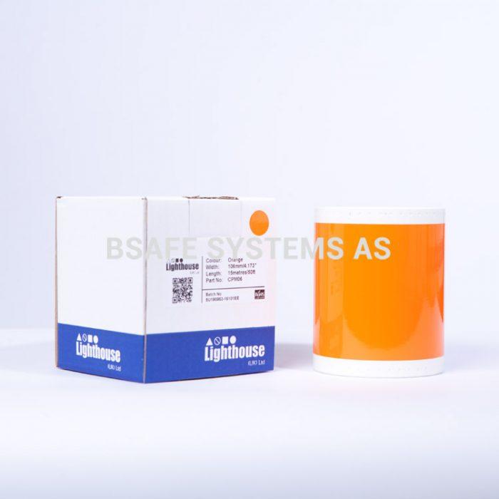 Vinylfolie CPM oransje CPM06 : Bsafe Systems AS