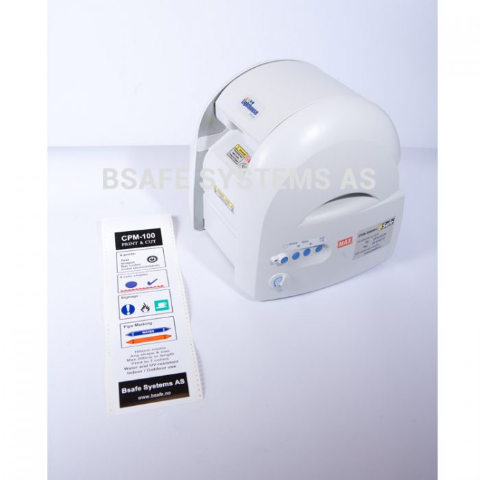Termoprinter : CPM100 G3 etikett : Bsafe Systems AS