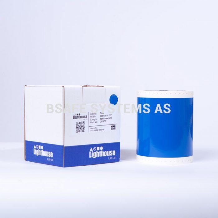 Vinylfolie CPM blå CPM05 : Bsafe Systems AS