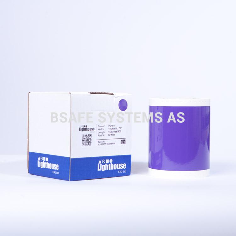 Vinylfolie CPM lilla CPM11 : BsafeSystems AS