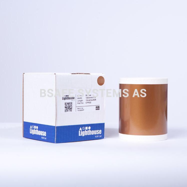 Vinylfolie CPM bronsje CPM22 : Bsafe Systems As