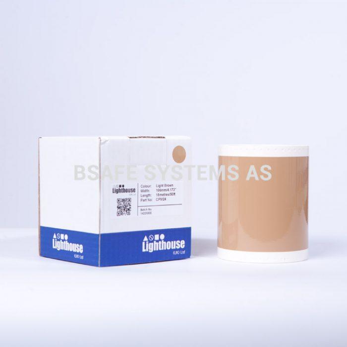 Vinylfolie CPM Lys brun CPM24 : Bsafe Systems AS