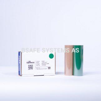 Fargebånd grønn refill CPM-100 : CPMR44 : Bsafe Systems AS