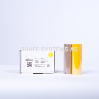 Fargebånd gul refill CPM-100 : CPMR45 : Bsafe Systems AS