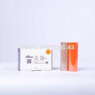 Fargebånd orange refill CPM-100 : CPMR46 : Bsafe Systems AS