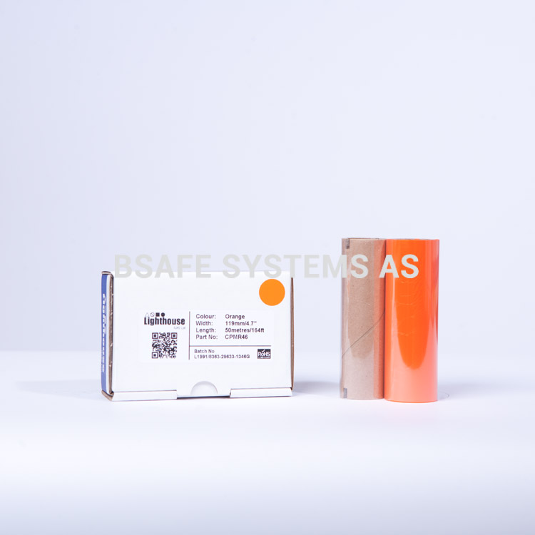 Fargebånd orange refill CPM-100 : CPMR46 : Bsafe Systems AS