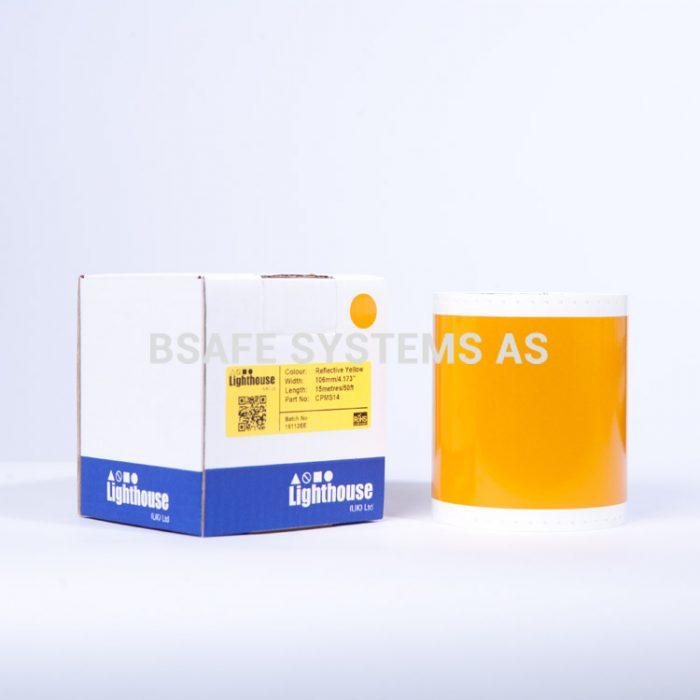 Gul refleks CPM-100 spesialfolie CPMS14 : Bsafe Systems AS