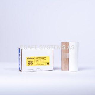 Fargebånd refill CPM-100 Polyester hvit : Bsafe Systems AS