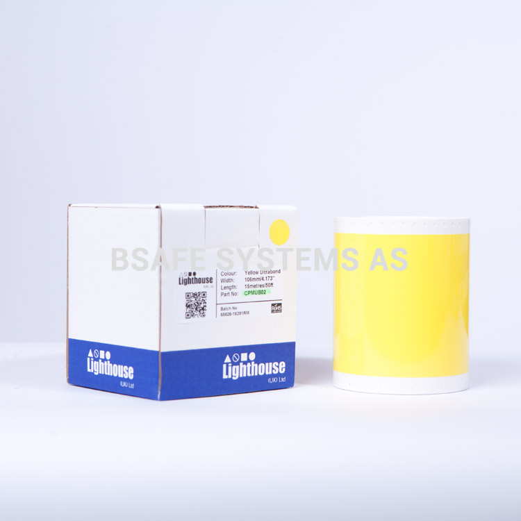 Ultrabond CPM-100 Gul folie CPMUB02 : Bsafe Systems AS