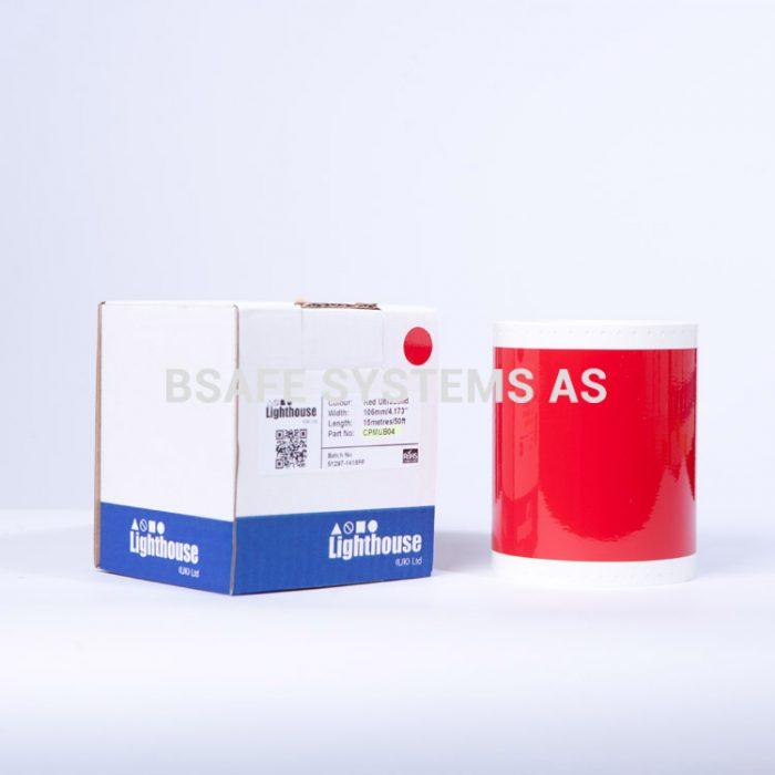 Ultrabond CPM-100 Rød folie CPMUB04 : Bsafe Systems AS