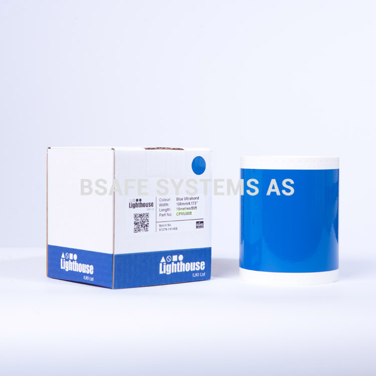Ultrabond CPM-100 Blå folie CPMUB05 : Bsafe Systems AS